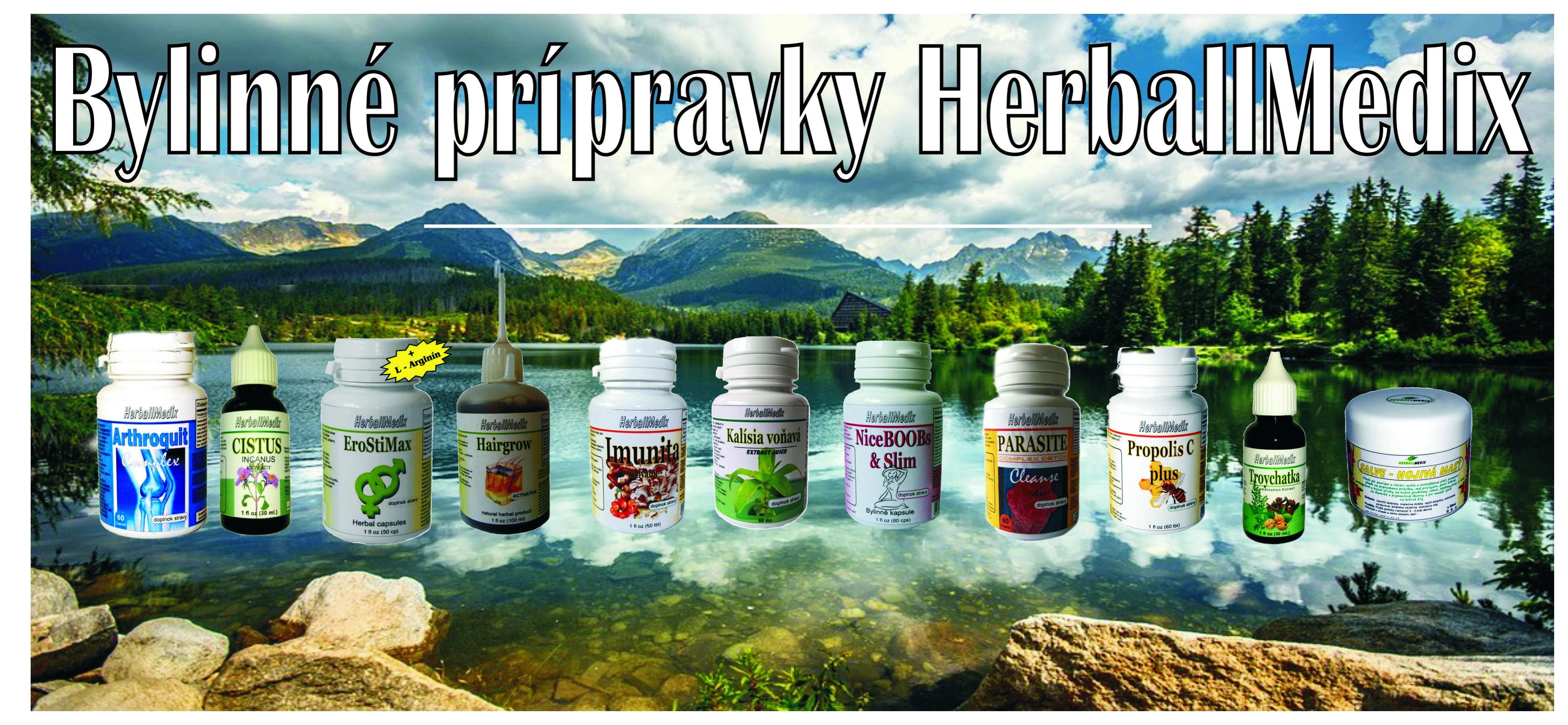 Bylinné produkty HerballMedix
