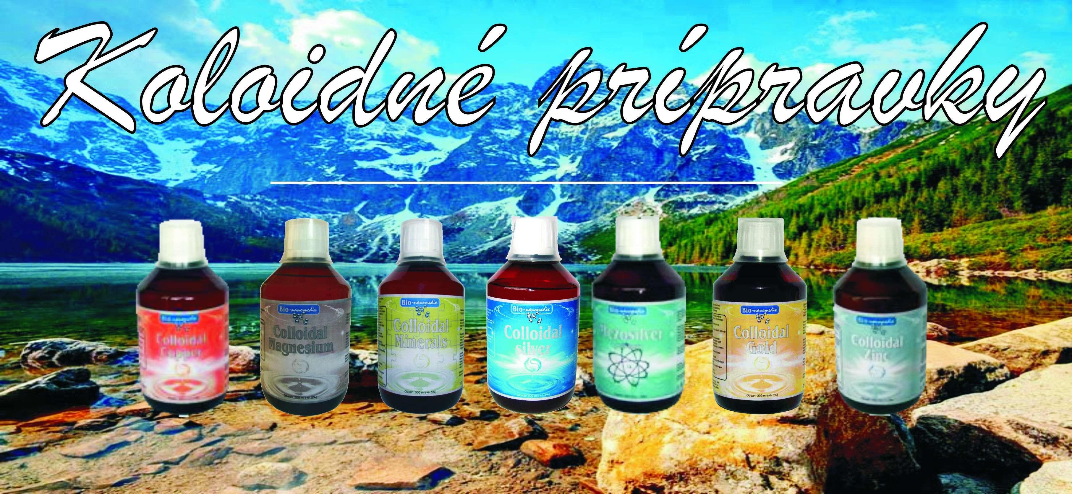 Koloidné produkty